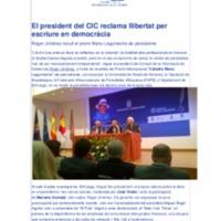 El president del CIC reclama llibertat per escriure en democràcia.pdf