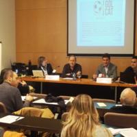 Intervenció dels representants de Golcat.com, Adolfo Merino i Gonzalo de Melo