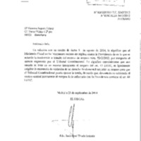 Espanya. Ministerio Fiscal. Fiscalía al Tribunal Constitucional.