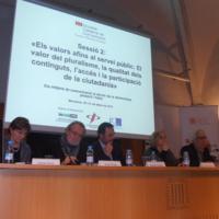 Llúcia Oliva, Emili Prado, Roberto Suárez i Mònica Terribas