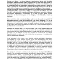 """Ponència """"La ética en las fronteras de Internet"""", de Roger Jiménez al seminari """"Retos éticos del periodismo en la era digital"""""""