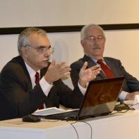 Albert Garrido i Roger Jiménez, del Consell de la Informació de Catalunya