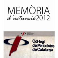 Memòria d'actuació 2012