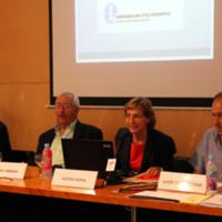 Albert Garrido, Roger Jiménez, Llúcia Oliva i Lluís de Carreras
