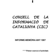 Memòria CIC 1997