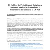 COM_051218_El Col·legi de Periodistes de Catalunya considera una burla democràtica el repartiment de càrrecs a la CCMA.pdf