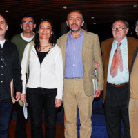 """Taula rodona """"Amors i odis a la premsa"""", celebrada a la Pedrera en motiu del X aniversari del Consell de la Informació de Catalunya"""